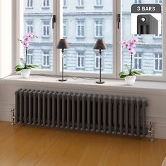 Traditional-Anthracite-Horizontal-Vertical-Vintage-Cast-Iron-Style-Radiator