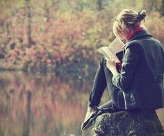 Reading at a lake is quite unlike anything else.