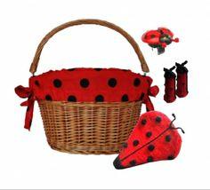 Ladybird Bicycle Accessories Gift Set