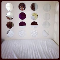 My Awesome Diy Mirror Headboard For The Home Pinterest Diy