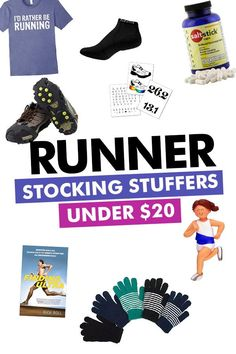 5ef81587ab5c runner gifts under $20 - must have runner gift ideas! Marathon Training For  Beginners,