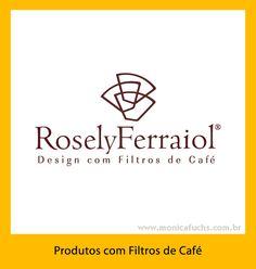 Identidade Visual para tradicional artesã que fabrica produtos com filtros de café, em São Paulo.
