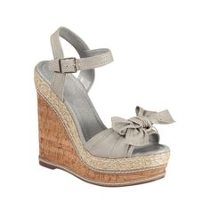 5e3ad3d606df Shop for Womens Steve Madden Spicy Wedge in Grey at Journeys Shoes.