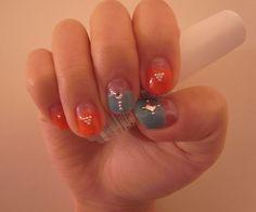 Simple Cute Gel Nail