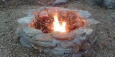 Build an Inground Backyard Fire Pit