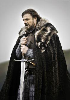Lord Eddard Stark (Sean Bean) 'Game of Thrones' Season 1, 2011. Costume designed by Michele Clapton.