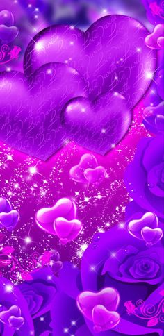 Pink Wallpaper Heart, Pink Wallpaper Backgrounds, Pretty Phone Wallpaper, Flower Phone Wallpaper, Purple Wallpaper, Cellphone Wallpaper, Of Wallpaper, Cute Wallpapers, Phone Wallpapers