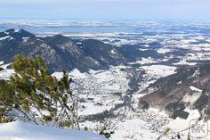 Rauschberg; Blick auf Ruhpolding; Oberbayern; Chiemsee; #Ruhpolding #Bayern #Berge #Mountain #Snow
