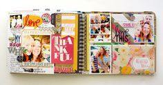 Heidi Swapp Hello Today Memory Planner by Kim Jeffress - Scrapbook.com