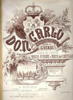 VIVA VERDI 2013: GIUSEPPE VERDI in collezione Carlo Lamberti Don Carlos #verdi #opera #poster #donCarlos