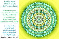 Mandala Udělej si pořádek ve své mysli Favorite Quotes, Outdoor Blanket
