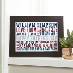 Personalised word art prints canvases see your design come to personalised word art prints canvases see your design come to life as you type pronofoot35fo Image collections