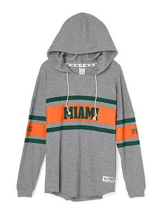 University of Miami Varsity Pullover Hoodie