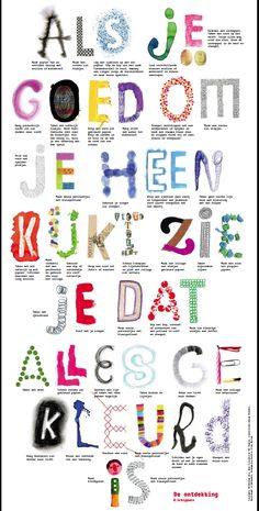 Als je goed om je heen kijkt zie je dat alles gekleurd is. Look around you closely and you will see that everything is in color. O algo así. Yoga For Kids, Art For Kids, School Slogans, Alphabet, Dutch Quotes, Doodle Designs, Art Therapy, Art Education, Art School