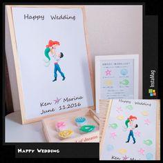 お星さまみたい♡夏ウェディングにぴったりの『スターフィッシュ』で作る結婚式小物まとめ* | marry[マリー] Welcome Boards, Diy Wedding, Happy, Instagram Posts, Ser Feliz, Being Happy