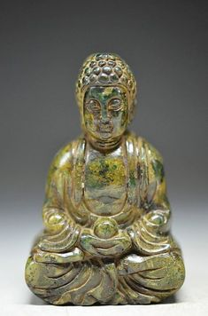 FROM A COLLECTION JADE CARVING BUDDHA  57x36x22mm  JADE GEMSTONE BUDDHA CARVING, GEMSTONE CARVING FROM GEMROCKAUCTIONS