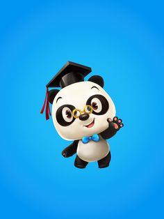 Mascot Design, Cute Panda, Winter House, Character Illustration, Panda Bear, Scary, Creatures, Concept, Cartoon