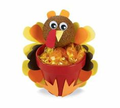 #Turkey Treat Pot #Thanksgiving #MichaelsStores