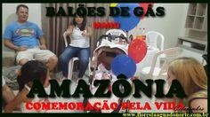 Amazônia - Festa - Balões de Gás - Celcoimbra