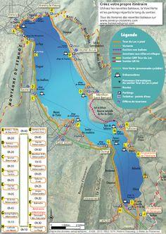 balade pédestre du tour du lac d'Annecy