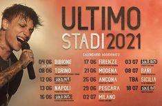Ultimo – STADI 2021 – Campania Tickets Ticket, Broadway