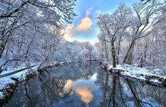 Winter river Wallpapers HD - Winter river Wallpaper hd