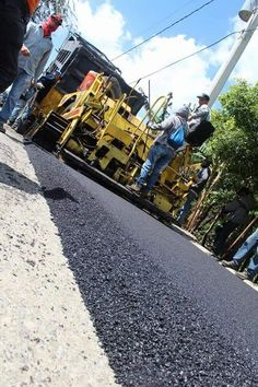 Asphalt Pavement, Road Construction, Rollers