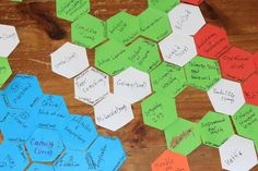 hexagonal thinking for assignment 4 Learning Spaces, Design