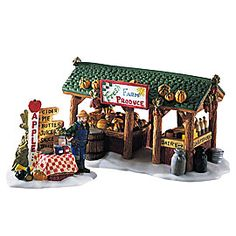 """Department 56: Products - """"Farmer's Market"""" - View Accessories"""