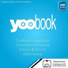 Recuerden #Lunes #Yoobook #Aprovecha todas las Laptops YooBook en promoción para reparacion, Actualizacion de Sis.