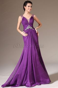 eDressit 2014 New Sexy V-neck Beaded Lace Evening Gown (02140306)