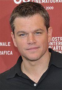 Matt Damon.  The Bourne movies!