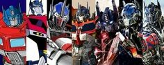 Faces of Optimus Prime