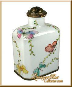 Limoge perfume bottle