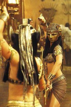 Anck Su Namun & Nefertiti The Mummy Returns