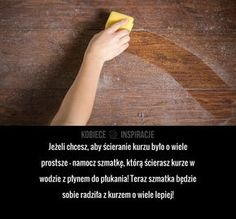 Wypróbuj ZŁOTĄ ZASADĘ sprzątania! House Cleaning Tips, Cleaning Hacks, Useful Life Hacks, Home Hacks, Declutter, Keep It Cleaner, Clean House, Health And Beauty, Diy And Crafts