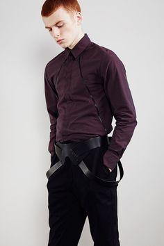 Sopopular Fall-Winter 2014-2015 (Lookbook)   Cool shirt, weird belt.