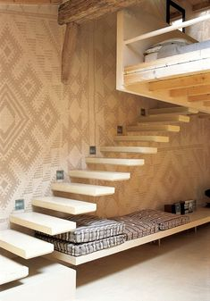 Tribal Patterns Take Interiors by Storm - mudcloth wall, love it