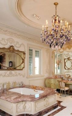 ♥ ~ The Millionairess Mansion ~ ♥ Luxury Bathrooms http://www.womenswatchhouse.com/