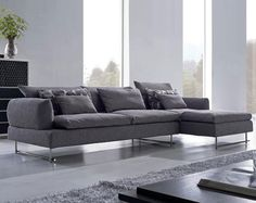 Bust of Long Sectional Sofa Design for Luxurious Interior Look