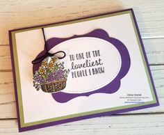 Celebrate the Journey – Stampin' Up Demonstrator and Travel JunkyCelebrate the Journey Diy Paper, Paper Crafts, Heartfelt Creations, Flower Cards, Stampin Up Cards, Cardmaking, Birthday Cards, Craft Supplies, Journey