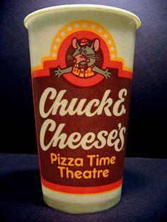 Vintage Chuck E. Cheese's Cup!