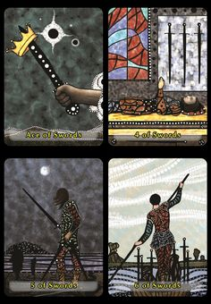 Mosaic Dream Tarot - If you love Tarot, visit me at www.WhiteRabbitTarot.com
