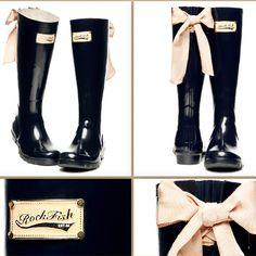 Rock Fish Rain Boots