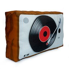 Vintage Vinyl Player.