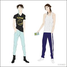 Old xian Jules Fade and Elia Marley