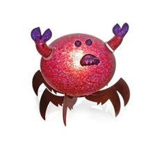 Crusty Crab Lamp 24-31-16 Pawel Borowski Glass Sculpture