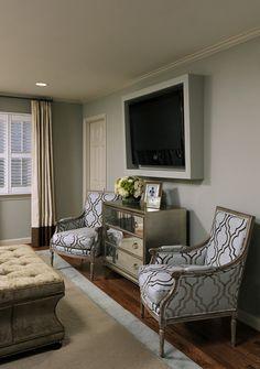 15 Creative Ways to Design or Decorate Around A Flat Screen TV | Schneiderman's {the blog}