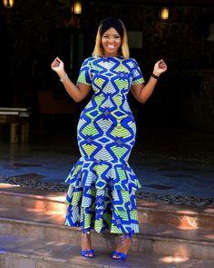 Ankara Outfit, Ankara Dress, African dress, African wax prints, African Clothing… Remilekun - African Styles for Ladies African Wedding Dress, African Print Dresses, African Fashion Dresses, African Attire, African Wear, African Women, African Dress, African Outfits, Ankara Fashion