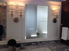 Framed Mirror for Master Bath Bathroom Pictures, Master Bath, Mirror, Frame, Furniture, Home Decor, Picture Frame, Decoration Home, Room Decor